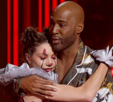'Dancing with the Stars' ousts Karamo Brown and partner Jenna Johnson after eight couples dance Halloween routines and team up