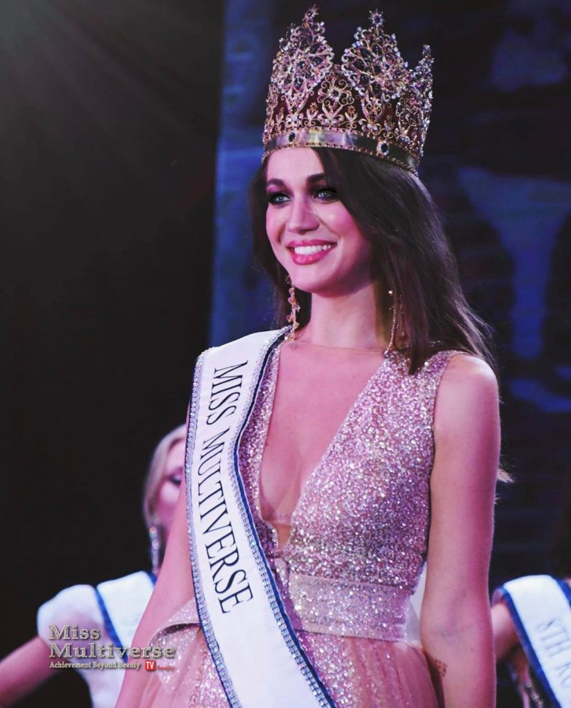 Alyona Smirnova Winner of Miss Multiverse 2019