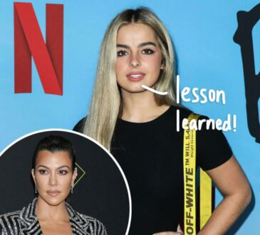 Addison Rae shares the advice Kourtney Kardashian gave her.